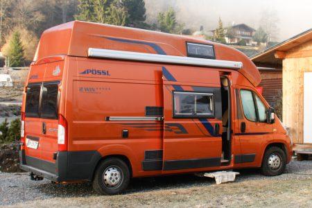kastenwagen wohnmobil pössl vario