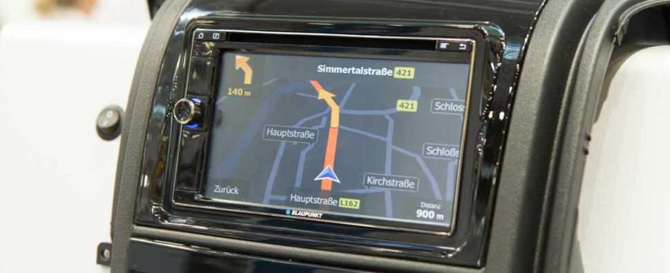 Navigation im Reisemobil