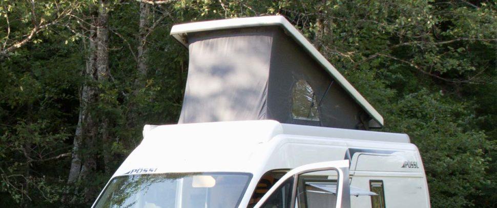 Kastenwagen Aufstelldach Schlafdach Pössl